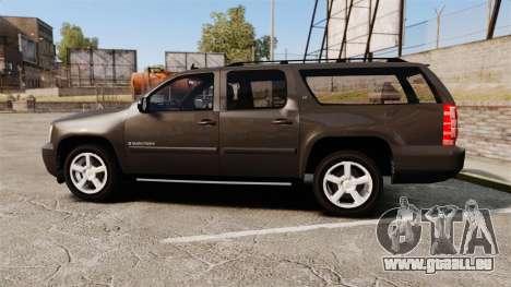 Chevrolet Suburban Slicktop 2008 [ELS] für GTA 4 linke Ansicht