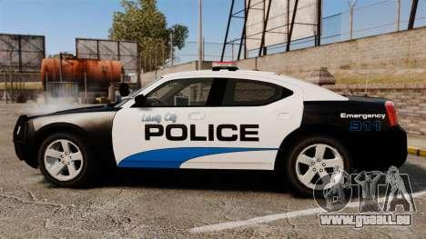 Dodge Charger 2010 Police [ELS] pour GTA 4 est une gauche