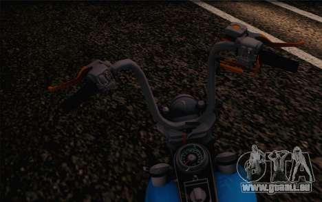 Harley-Davidson Knucklehead pour GTA San Andreas vue de droite