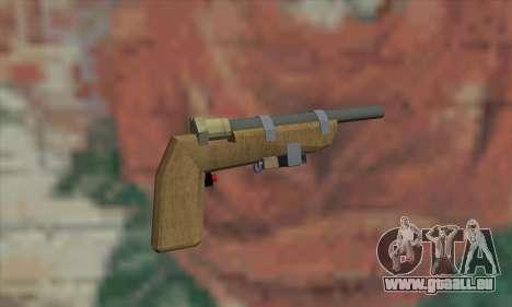 Hausgemachte Waffe für GTA San Andreas zweiten Screenshot