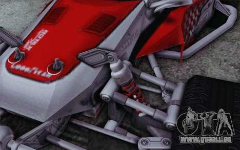 Buggy XCelerator XL für GTA San Andreas rechten Ansicht