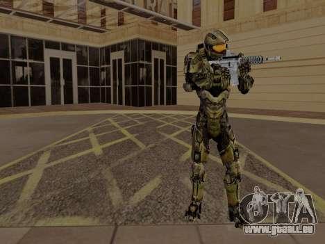 Master Chief pour GTA San Andreas troisième écran
