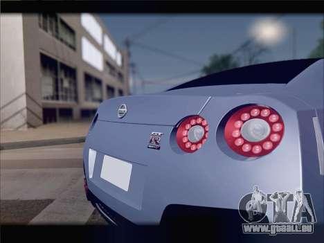 Nissan GT-R Spec V Stance pour GTA San Andreas vue de côté