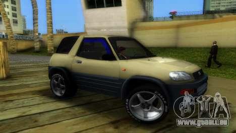 Toyota RAV 4 L 94 Fun Cruiser für GTA Vice City linke Ansicht