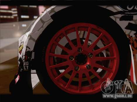 Ford Fiesta RS WRC 2013 für GTA San Andreas obere Ansicht