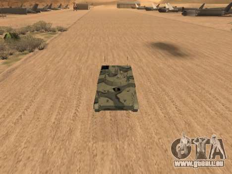 BMP-3 pour GTA San Andreas laissé vue