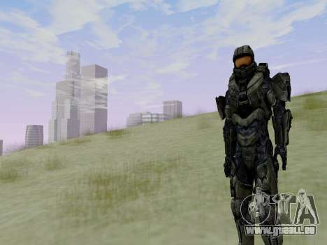 Master Chief für GTA San Andreas siebten Screenshot