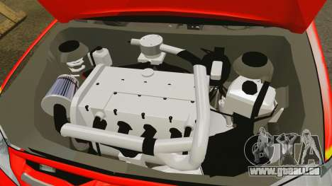 Toyota Hilux French Red Cross [ELS] pour GTA 4 est une vue de l'intérieur