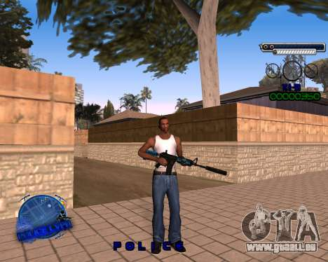 C-HUD Police LVPD pour GTA San Andreas