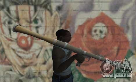 Lanceur de missiles de la Saints Row 2 pour GTA San Andreas troisième écran