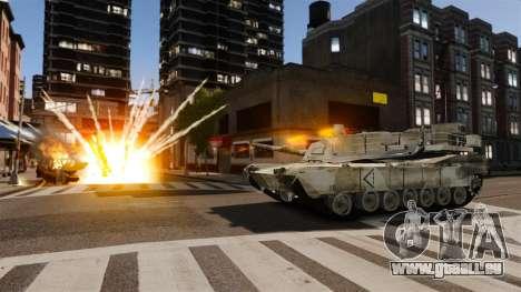 Skript-Tank V-Style für GTA 4 sechsten Screenshot
