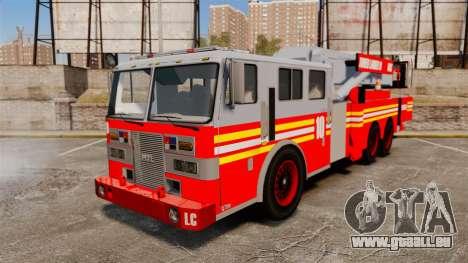 MTL Firetruck Tower Ladder [ELS-EPM] pour GTA 4