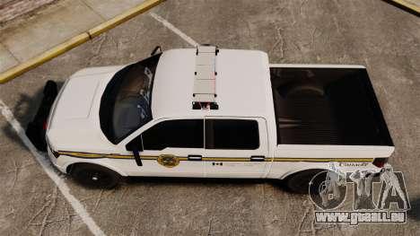 Ford F-150 2012 CEPS [ELS] pour GTA 4 est un droit