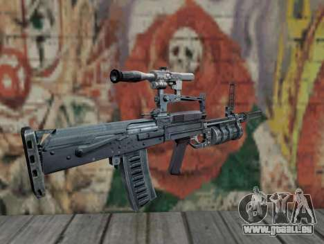 Fusil de S.T.A.L.K.E.R. pour GTA San Andreas deuxième écran