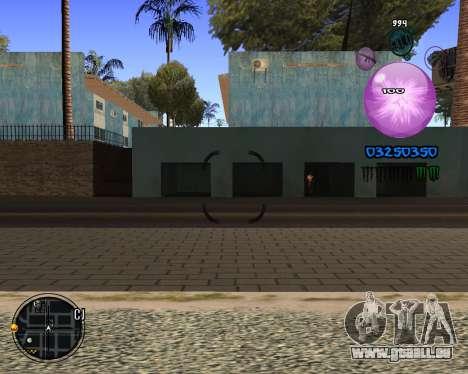 C-HUD Dony Scofield pour GTA San Andreas troisième écran