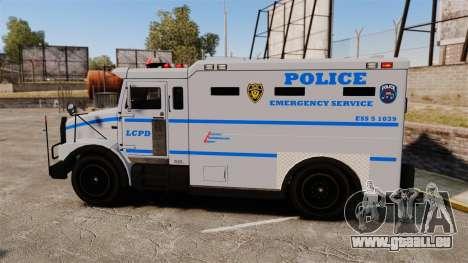 Enforcer LCPD [ELS] für GTA 4 linke Ansicht