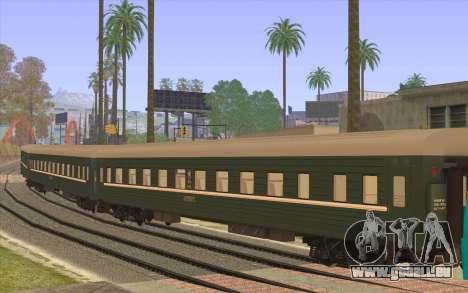 Wagon de siège réservé pour GTA San Andreas