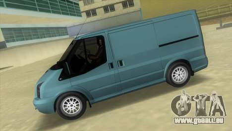 Ford Transit Sportback 2011 für GTA Vice City linke Ansicht