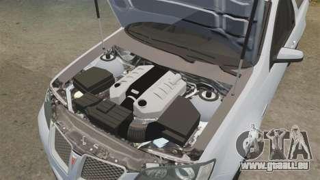 Pontiac G8 Sport Truck 2010 pour GTA 4 est un côté