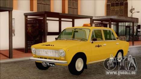 Taxi VAZ 21011 pour GTA San Andreas