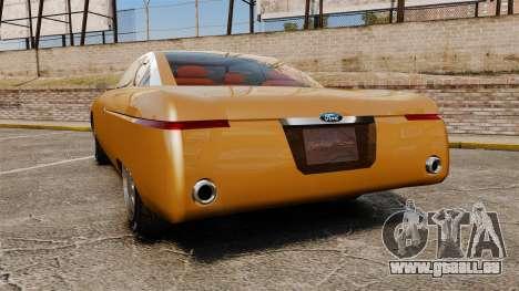 Ford Forty Nine Concept 2001 pour GTA 4 Vue arrière de la gauche
