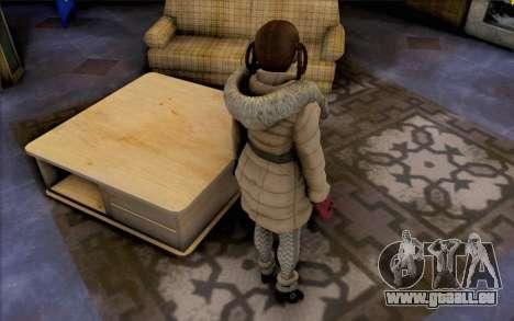Lei de Dead or Alive 5 pour GTA San Andreas troisième écran