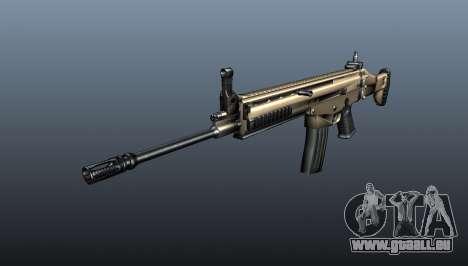 Fusil d'assaut SCAR-L pour GTA 4