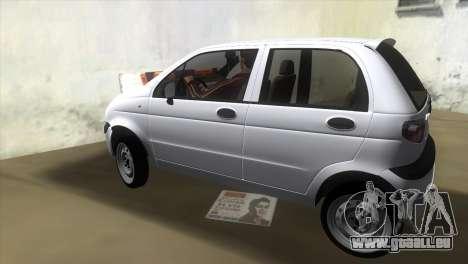 Daewoo Matiz pour une vue GTA Vice City de la gauche