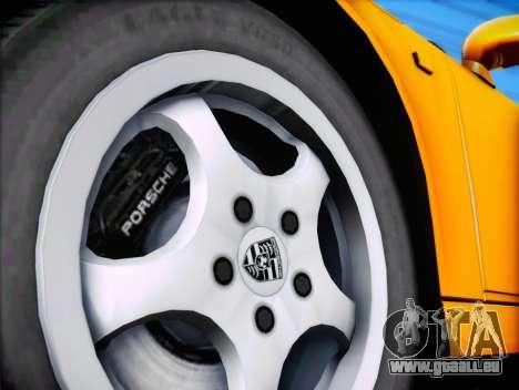 Porsche 911 Speedster Carrera 2 1992 pour GTA San Andreas vue de côté