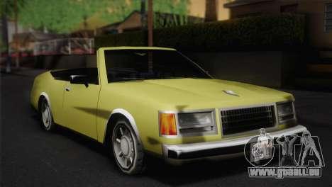 2-türiges Cabriolet, Washington für GTA San Andreas