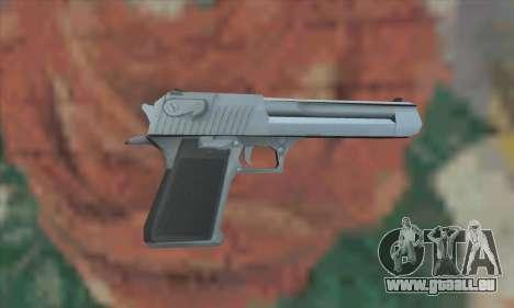 Desert Eagle von Saints Row 2 für GTA San Andreas zweiten Screenshot