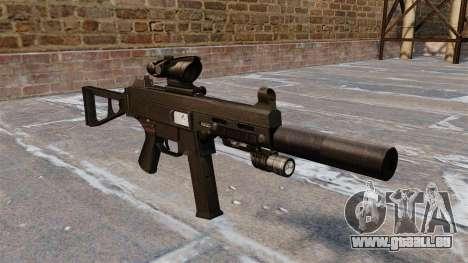 Maschinenpistole UMP45 für GTA 4