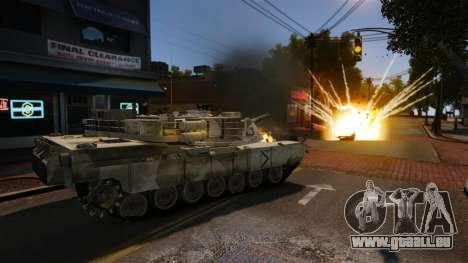 Skript-Tank V-Style für GTA 4 Sekunden Bildschirm