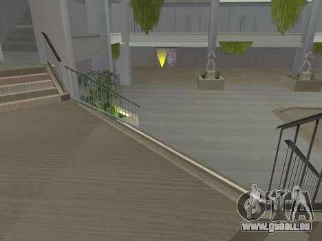 Texture améliorée intérieur « atrium » pour GTA San Andreas neuvième écran