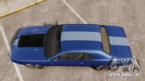 GTA V Declasse Gauntlet ZL1 für GTA 4 rechte Ansicht