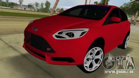Ford Focus ST 2013 für GTA Vice City