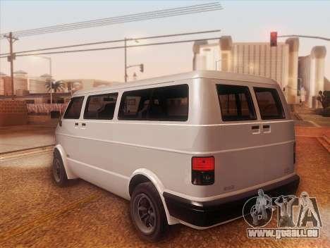 Youga GTA 5 pour GTA San Andreas laissé vue