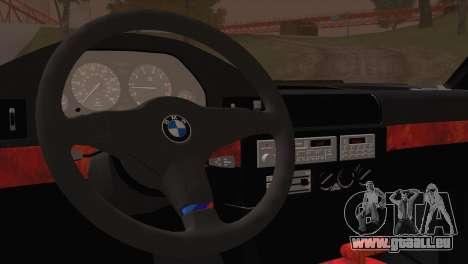 BMW 535i E34 Mafia Style für GTA San Andreas Rückansicht