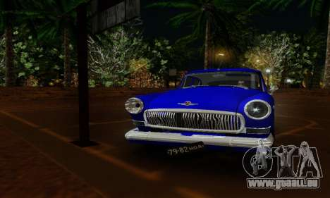 GAZ 21 Volga für GTA San Andreas rechten Ansicht
