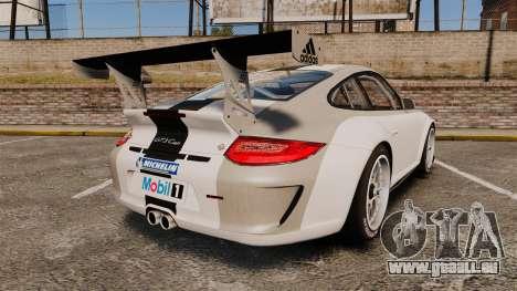 Porsche 911 (997) GT3 Cup für GTA 4 hinten links Ansicht