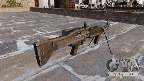 Allzweck-Maschinengewehr M60E4 für GTA 4 Sekunden Bildschirm