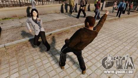 Le Script-danse - pour GTA 4 troisième écran