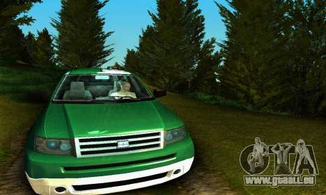 Landstalker GTA IV pour GTA San Andreas vue intérieure