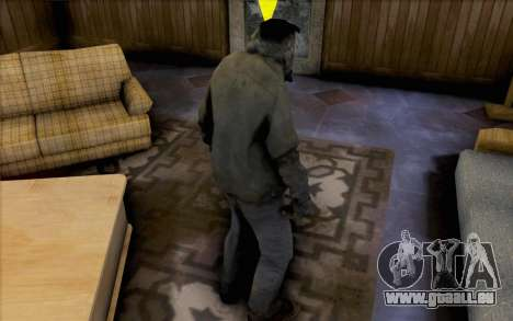 Left 4 Dead Raucher für GTA San Andreas zweiten Screenshot