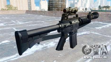 Automatische Carbine M4A1 für GTA 4 Sekunden Bildschirm