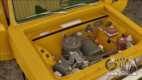 Taxi VAZ 21011 pour GTA San Andreas moteur