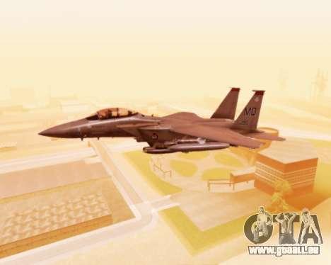 F-15E Strike Eagle für GTA San Andreas Seitenansicht