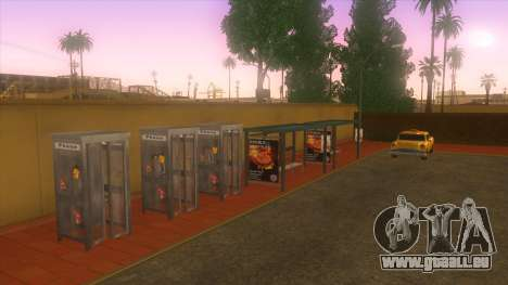 Gare routière, Los Santos pour GTA San Andreas cinquième écran