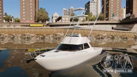 Sport fishing yacht pour GTA 4