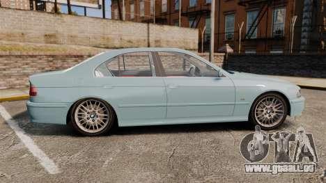 BMW 525i (E39) für GTA 4 linke Ansicht